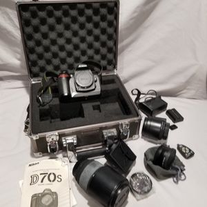 Nikon D70s Digital Camera &  Accessories